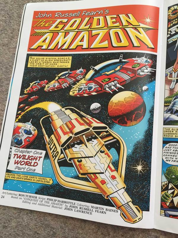 Spaceship Away Issue 42 - John Russell Fearn's The Golden Amazon