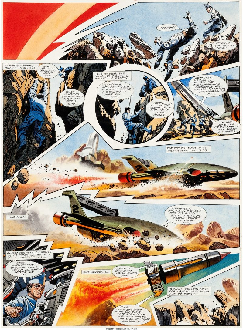 TV21 146 - Thunderbirds by Frank Bellamy (Trimmed)