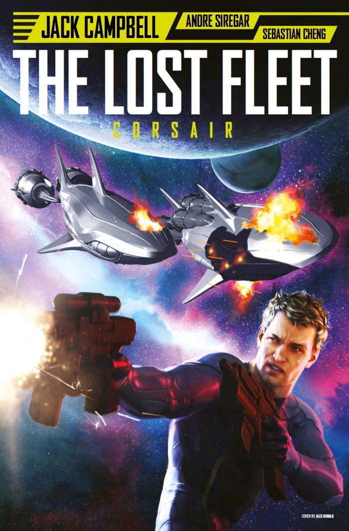 The Lost Fleet #3 Cover A - Alex Ronald