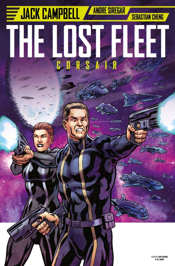 The Lost Fleet #3 Cover C - Gary Erskine