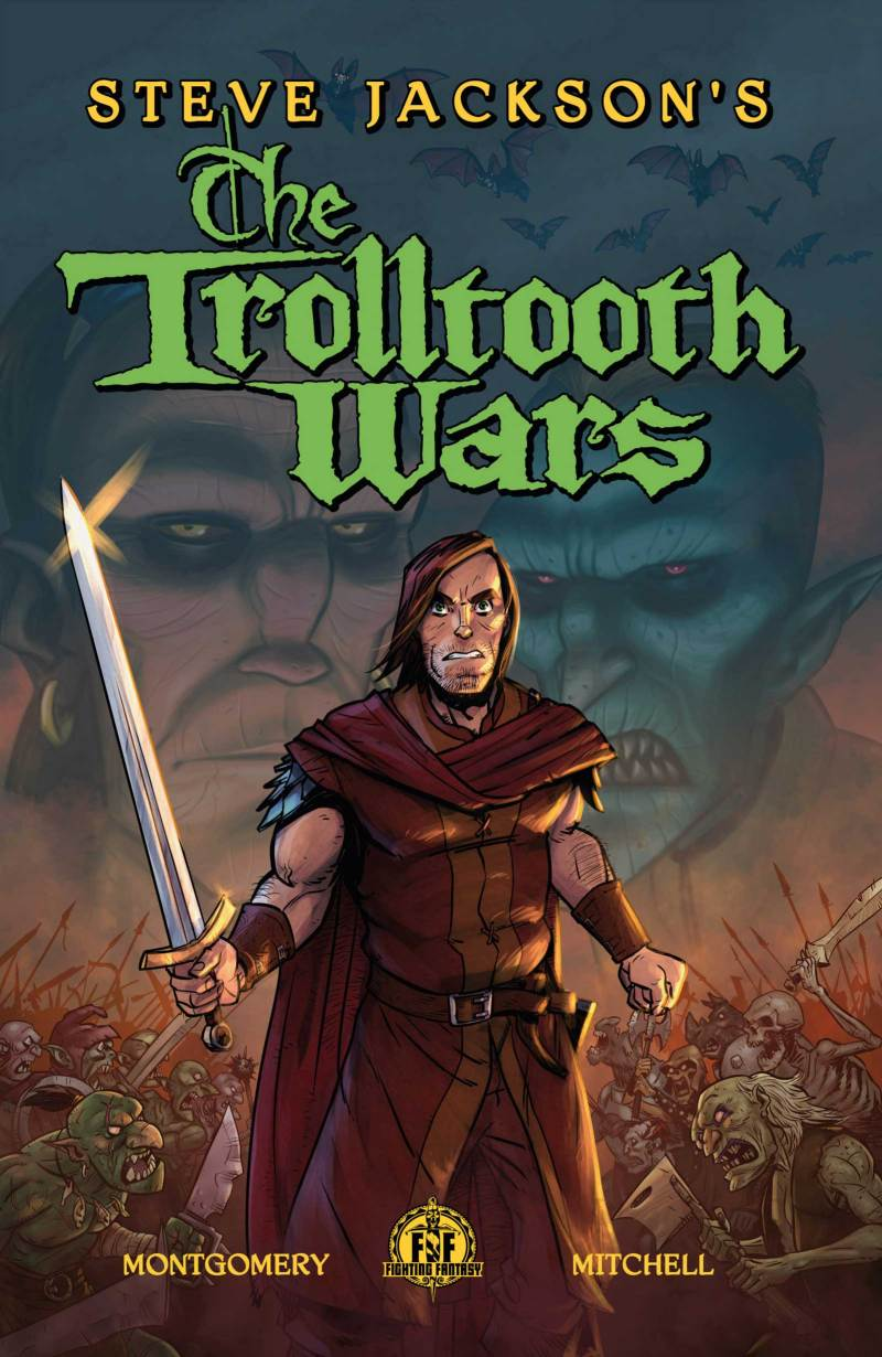 Steve Jackson's The Trolltooth Wars - Cover