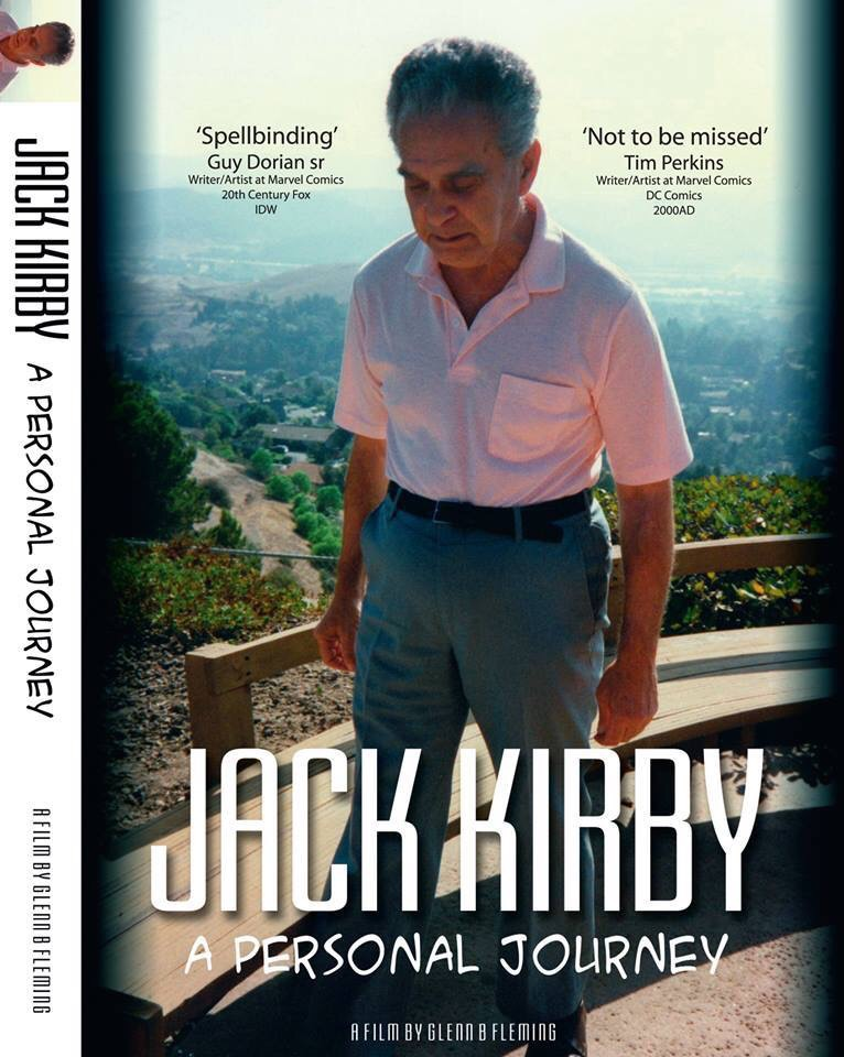 Jack Kirby - A Personal Journey - Cover
