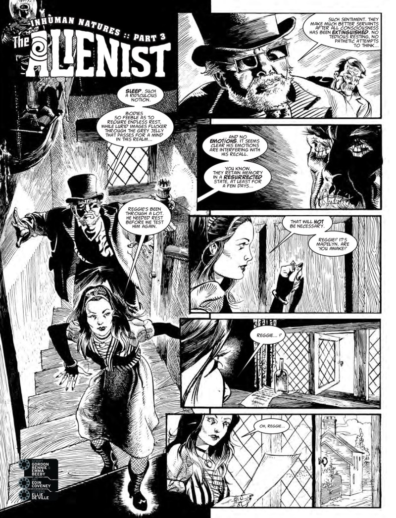 2000AD Prog 2044 - The Alienist