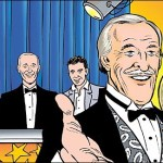 Minnie the Minx prepares to take on Bruce Forsyth in a celebrity-packed 2006 issue of The Beano. © DC Thomson
