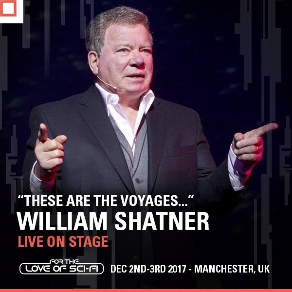 William Shatner - For the Love of Sci-Fi