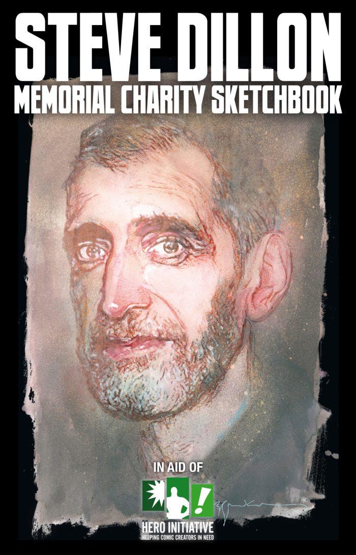 Steve Dillon Memorial Sketchbook