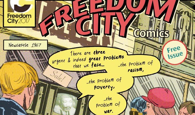 Tynside's freedom fighters immortalised in a new, free comic