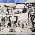 "Undated panels from ""House of Dollman"" for Valiant, by Giorgio Giorgetti"