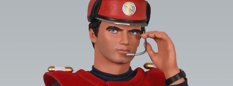 BIG Chief Studios 50th Anniversary Captain Scarlet figure revealed