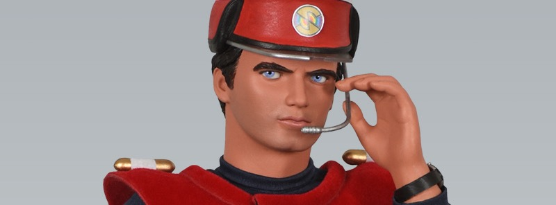 Big Chief Studios Captain Scarlet Figure SNIP