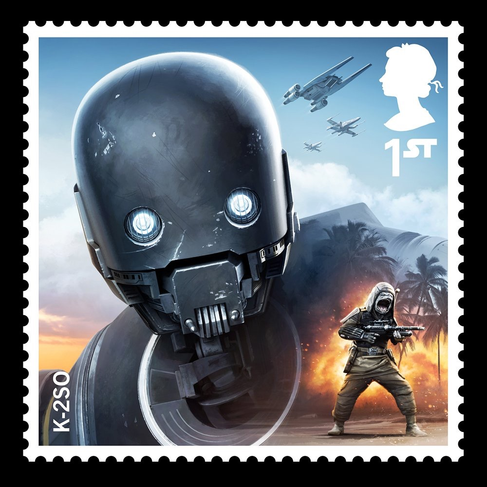 Royal Mail Star Wars The Last Jedi Stamps Revealed Some
