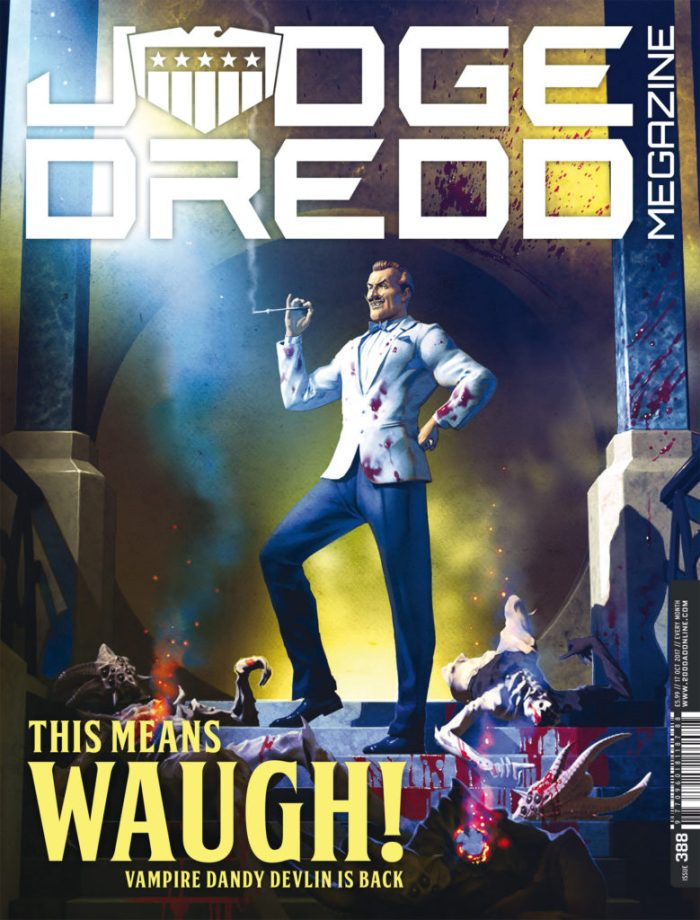 Judge Dredd Megazine388 - Cover