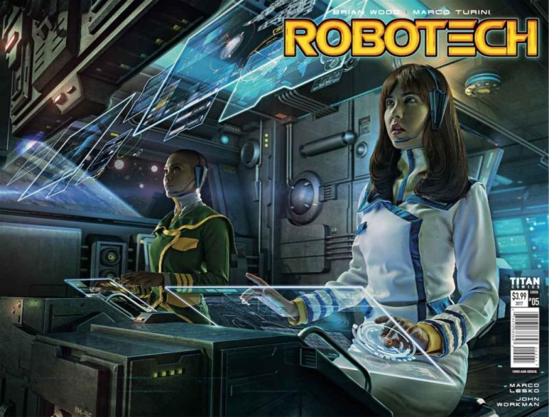 Robotech #5 Cover B: Cosplay Wraparound Variant