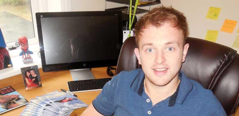Comics writer Simon James SNIP