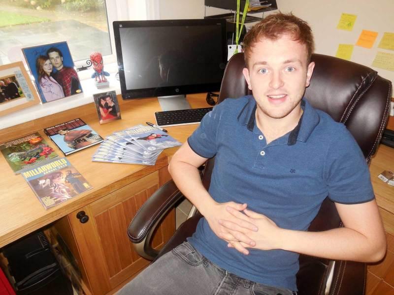 Comics writer Simon James