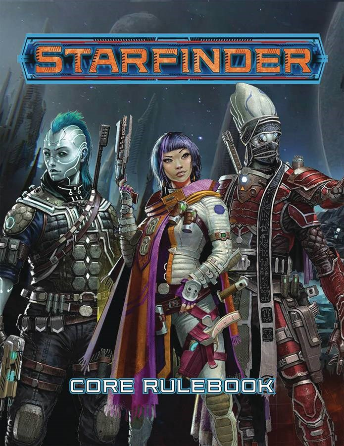 Starfinder Core Rulebook Cover