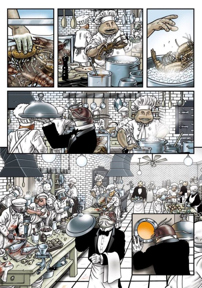 Grandville: Force Majeure - Preview Art