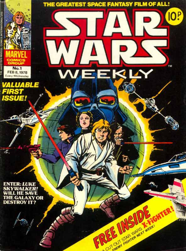 Star Wars Weekly #1 - Cover