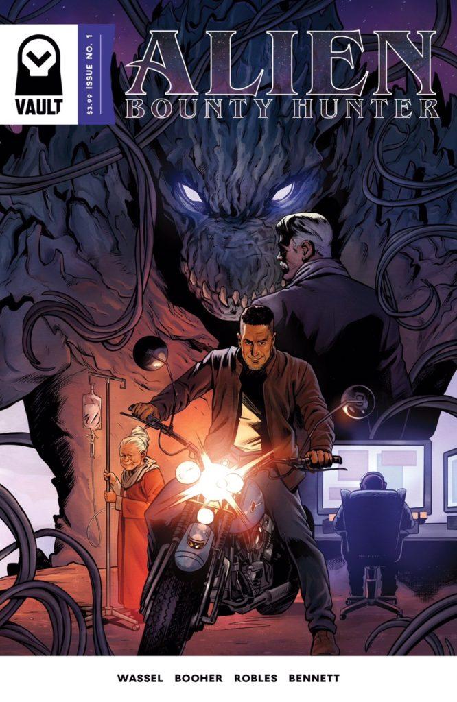 Vault Comics Alien Bounty Hunter #1
