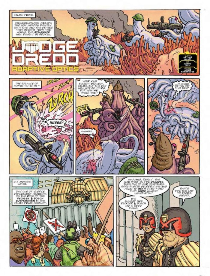 2000AD Prog 2053 - Judge Dredd