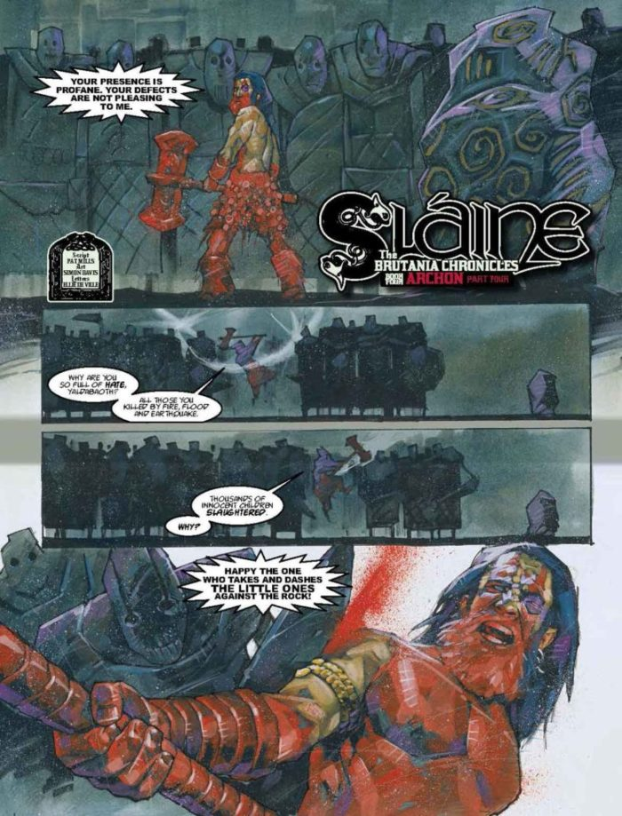 2000AD Prog 2053 - Slaine