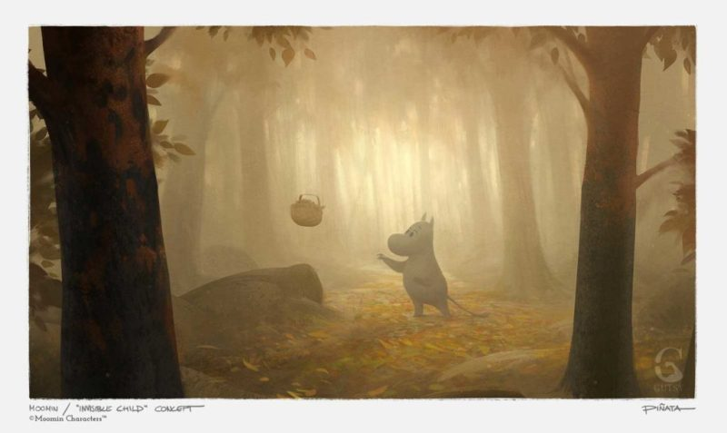 MoominValley Concept Art - The Invisible Child © Moomin Characters