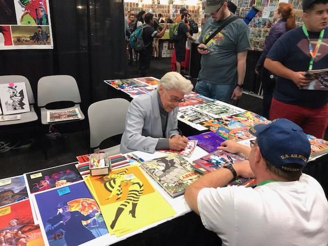 New York Comic Con 2017 Day 1 - Jim Steranko