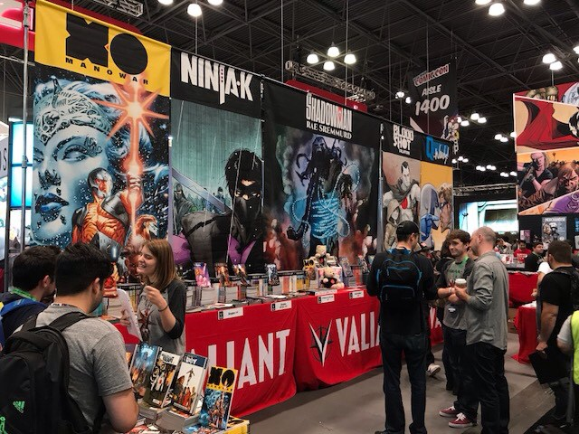 New York Comics Con Day 1 - Valiant Comics