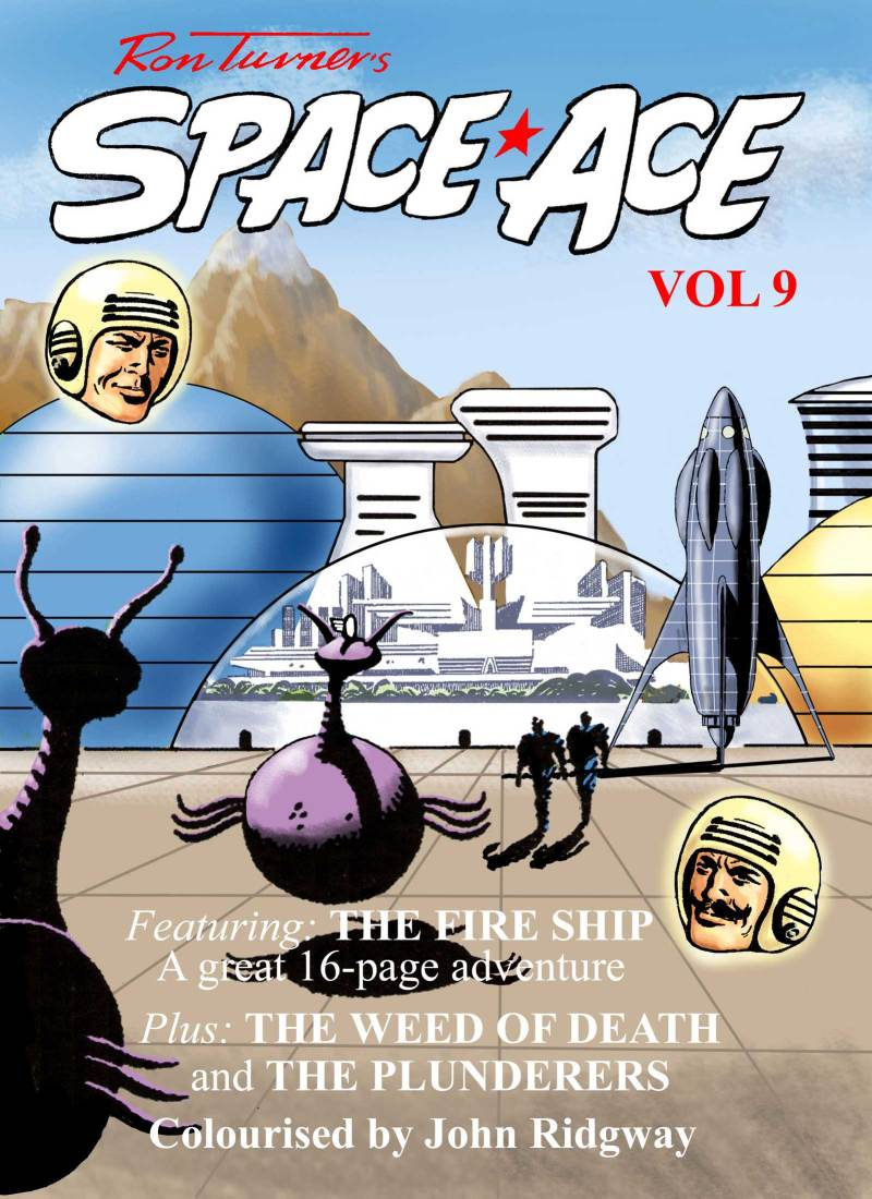 Space Ace Volume 9 - Cover