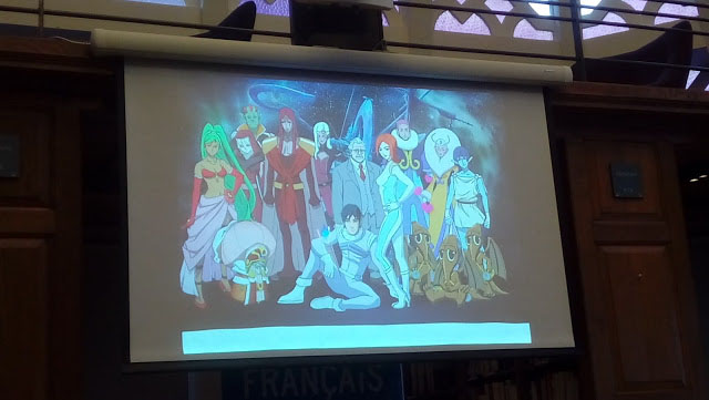 While Valerian was also turned into an anime series, the creators told the audience they weren't fans. Photo: Richard Sheaf