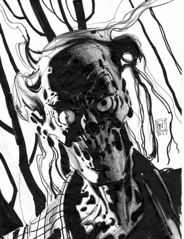 Walking Dead Exhibition 2017 - Sample Art