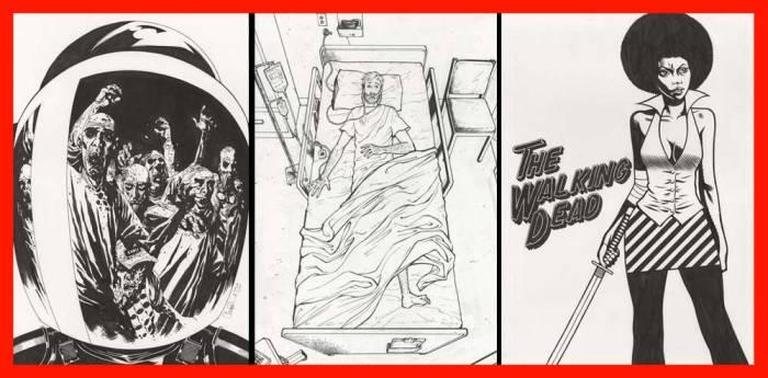 Walking Dead Exhibition 2017 - SNIP