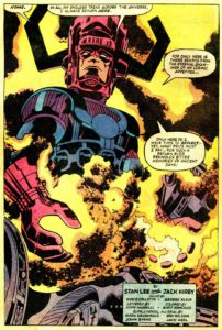 Galactus, art by Jack Kirby © Marvel