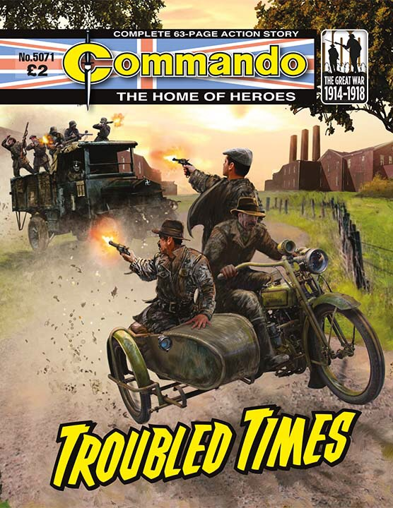 Commando 5071: Home of Heroes: Troubled Times