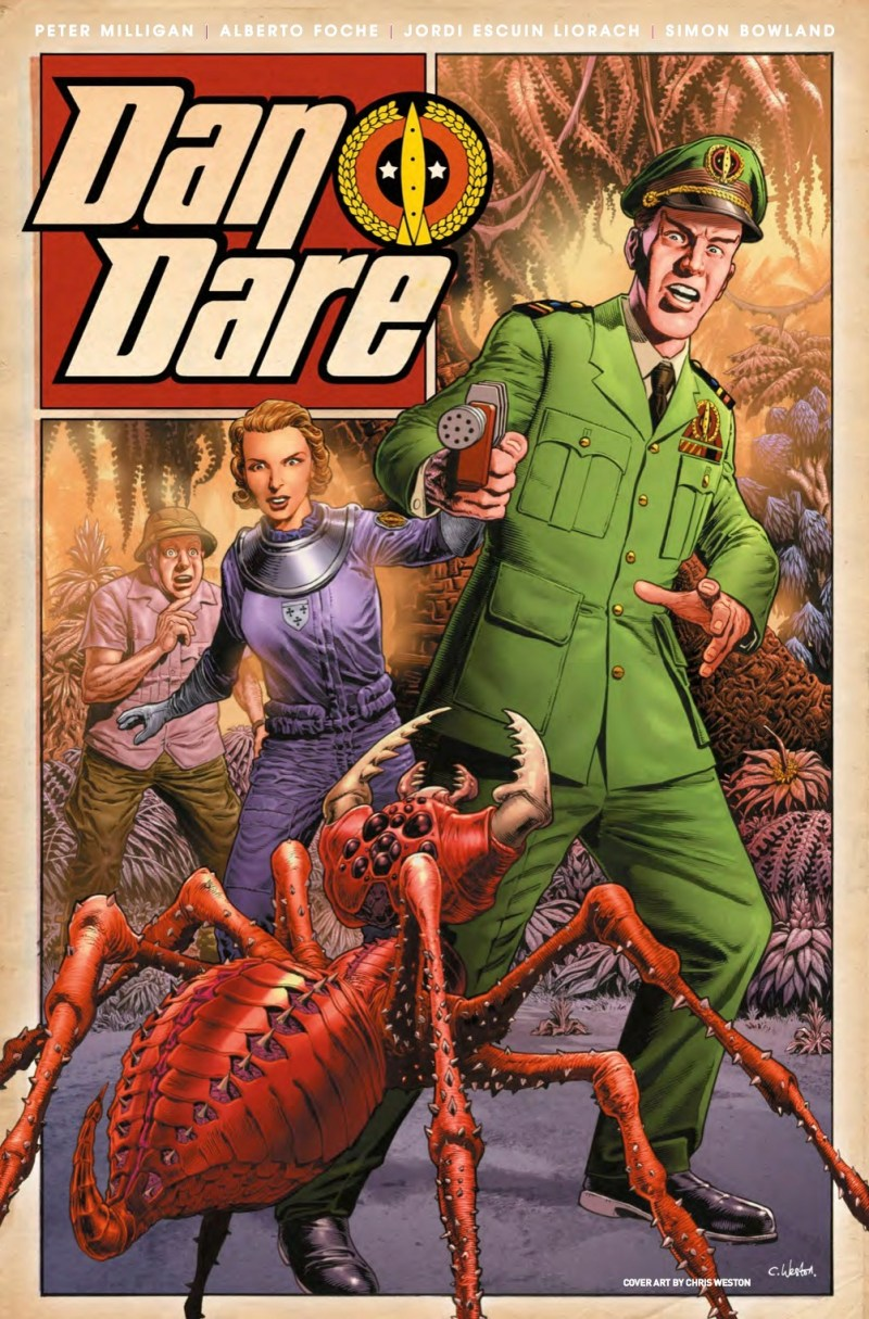 Dan Dare #2 Cover C - Chris Weston