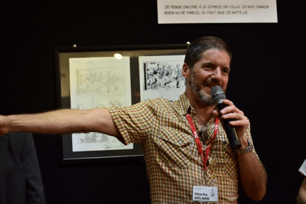 Charlie Adlard at the Amiens Comic Art Festival 2017