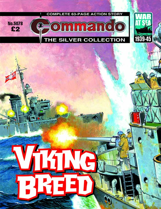 Commando 5078: Silver Collection: Viking Breed