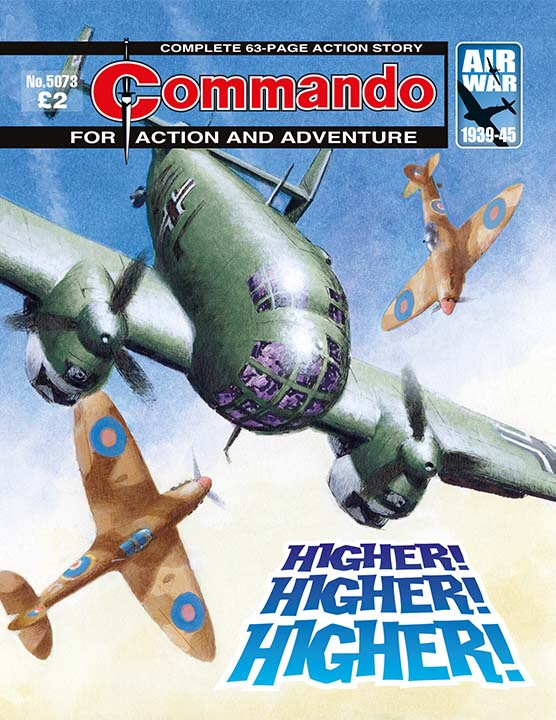 Commando 5073: Action and Adventure: Higher! Higher! Higher!