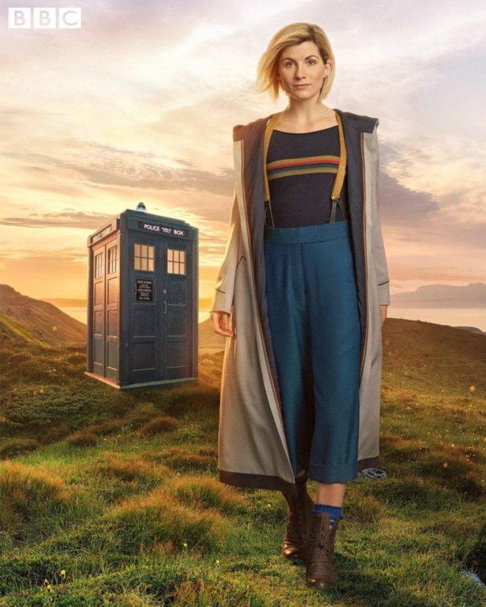 Jodie Whittaker as the Thirteenth Doctor. Image: BBC
