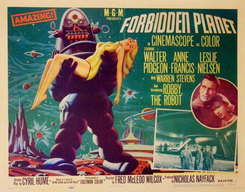 Forbidden Planet Quad Poster