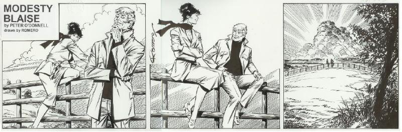 "Titan Books completes its ""Modesty Blaise"" collections with ""The Killing Game"""