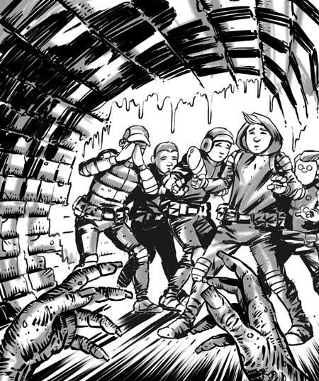 Tales Of Mega-City One – Ghosts of Mega-City 1 by writer Paul Penna and artist David Peloe