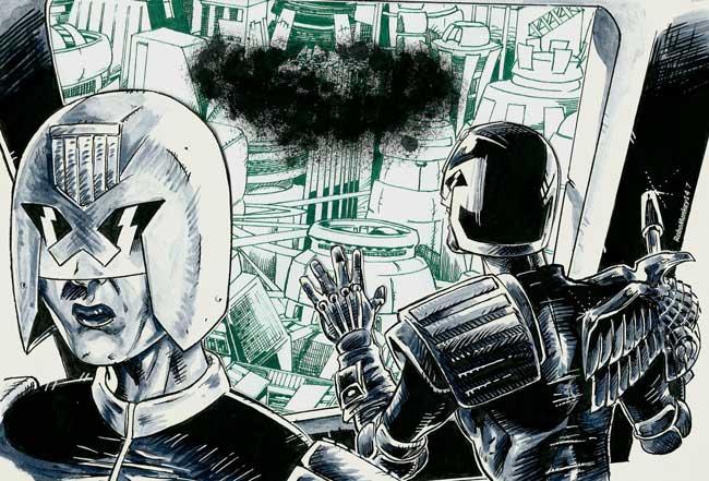 Tales Of Necropolis – The Final Assessment by writer Matt Sharp and artist RoboMonkey 147