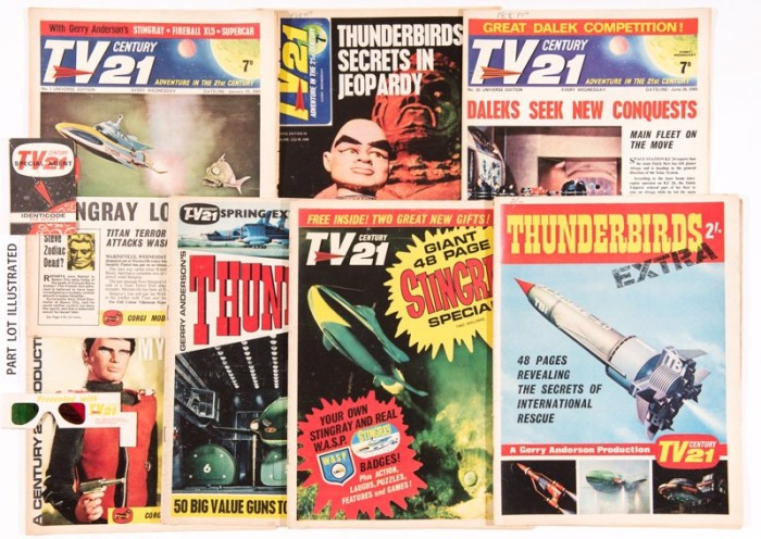 TV Century 21 (1965-68) 1-157 and Specials