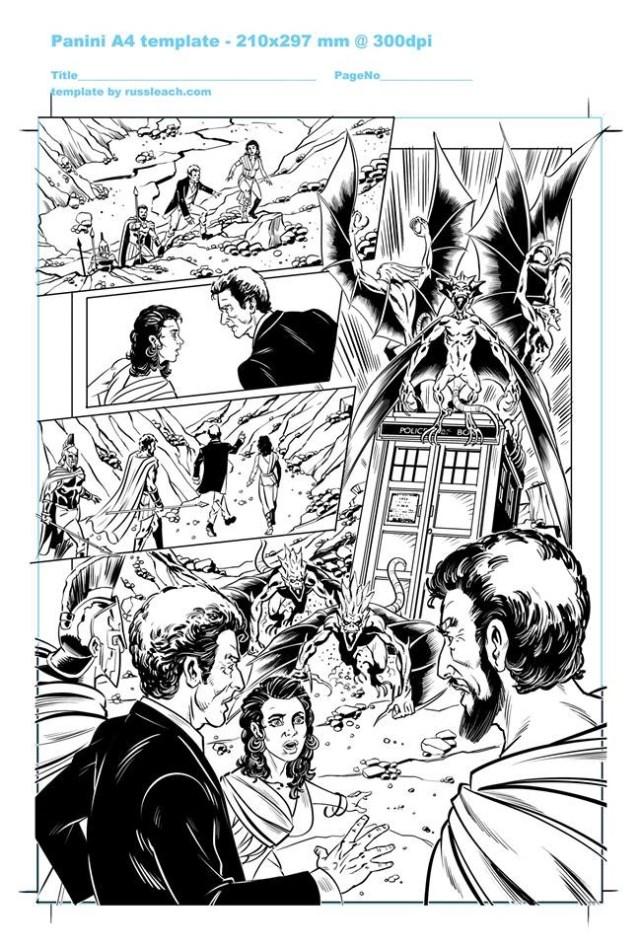 Doctor Who Adventures - Unpublished Twelfth Doctor Strip 4