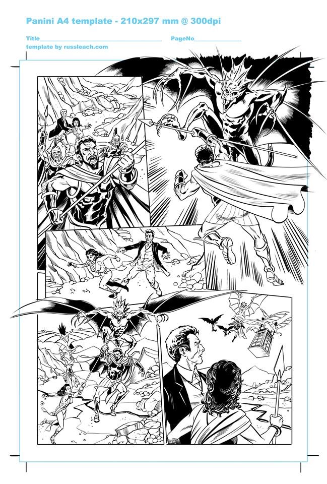 Doctor Who Adventures - Unpublished Twelfth Doctor Strip 5