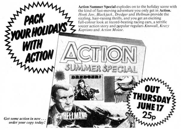 Action - House Ad - Specials