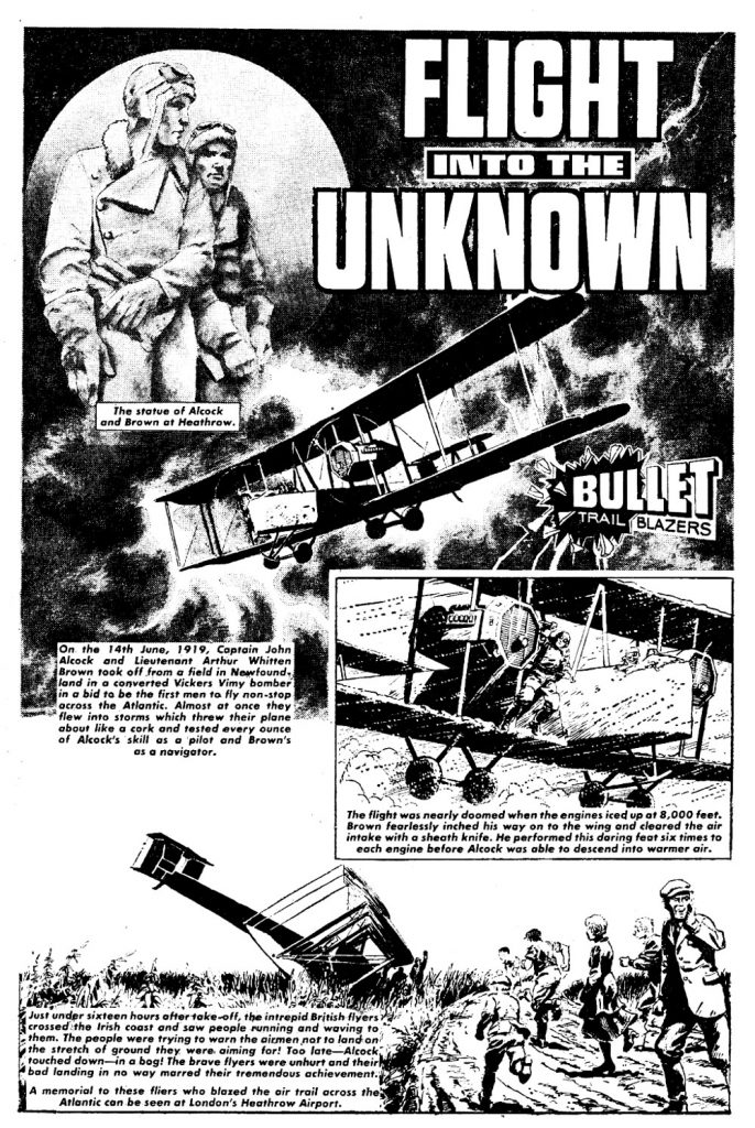 Bullet Issue One - Flight into the Unknown