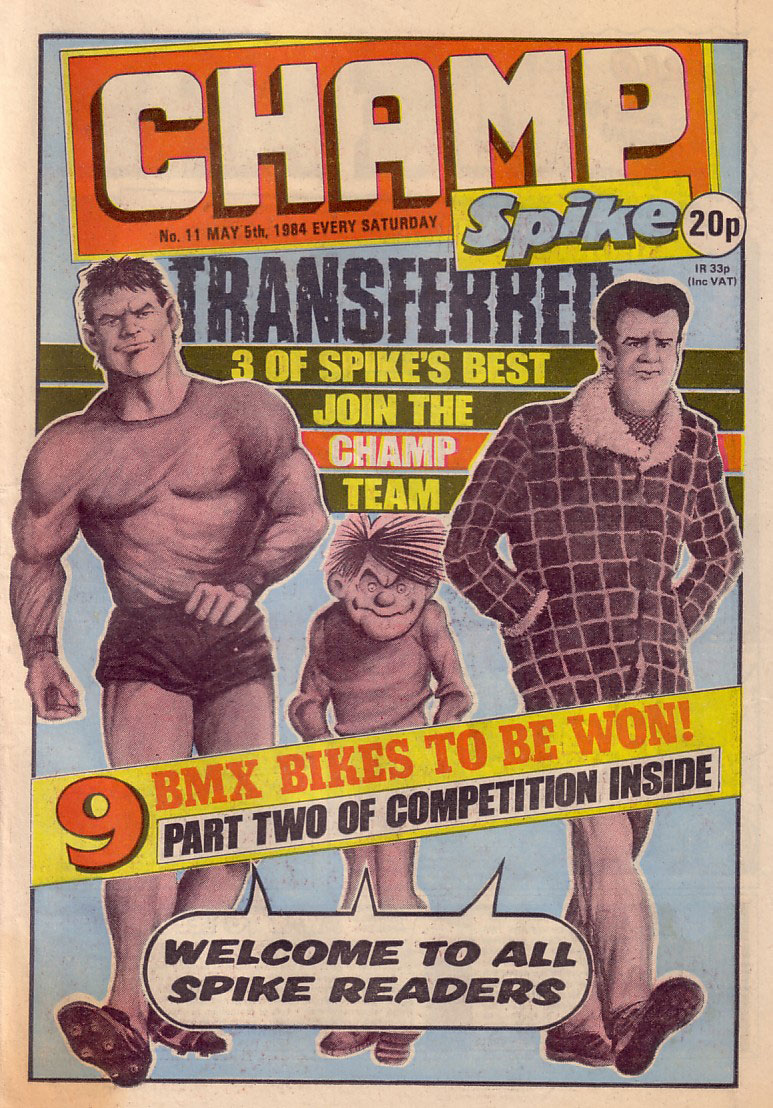 Champ Issue 11 - Cover dated 5th May 1984