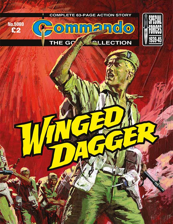 Commando 5080: Gold Collection: Winged Dagger